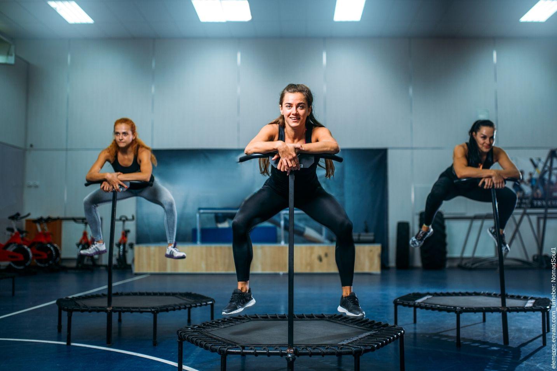 Jumping Fitness- Frei im Kopf mit Jumping Fitness