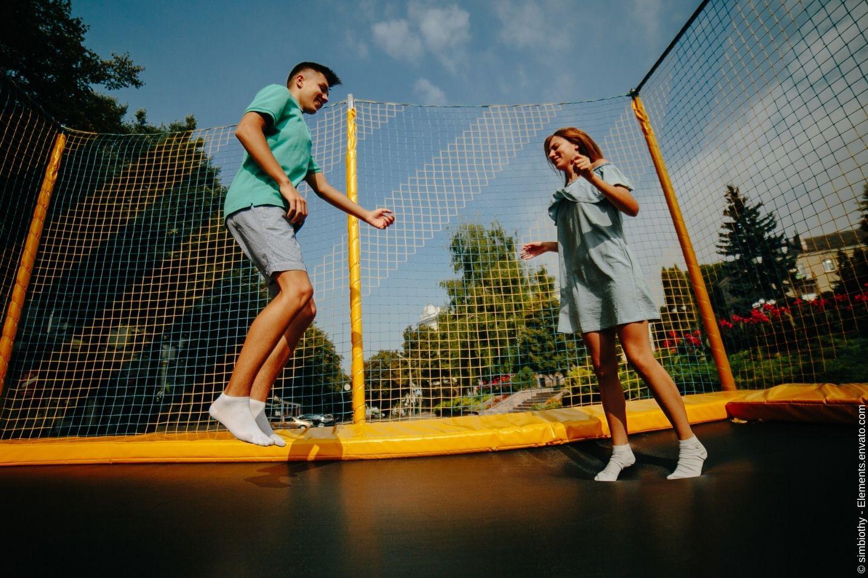 Trampolin Fitness und dessen Wirkung auf den Körper und die Psyche